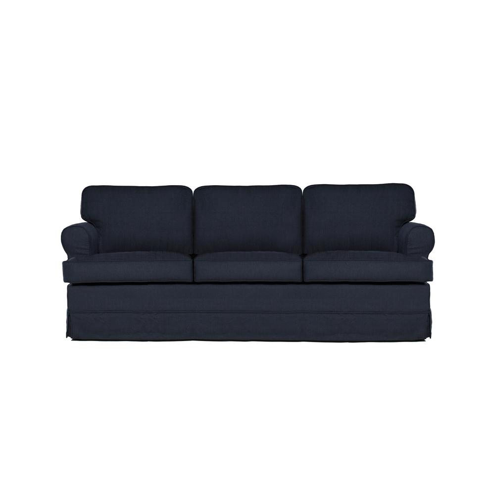 Everett Midnight (Black) Sofa