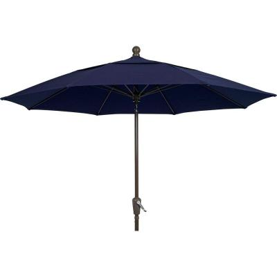 Lucaya 11 ft. Patio Umbrella in Navy Blue