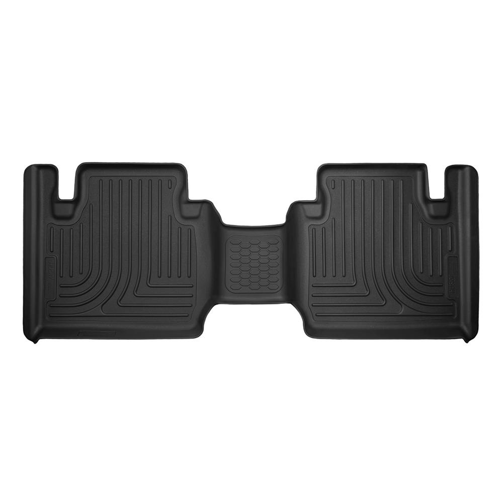 Husky Liners 2nd Seat Floor Liner Fits 12-18 Tacoma Access Cab Pickup 53831