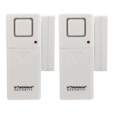 Door and Window Alarm with Chime (2-Pack)