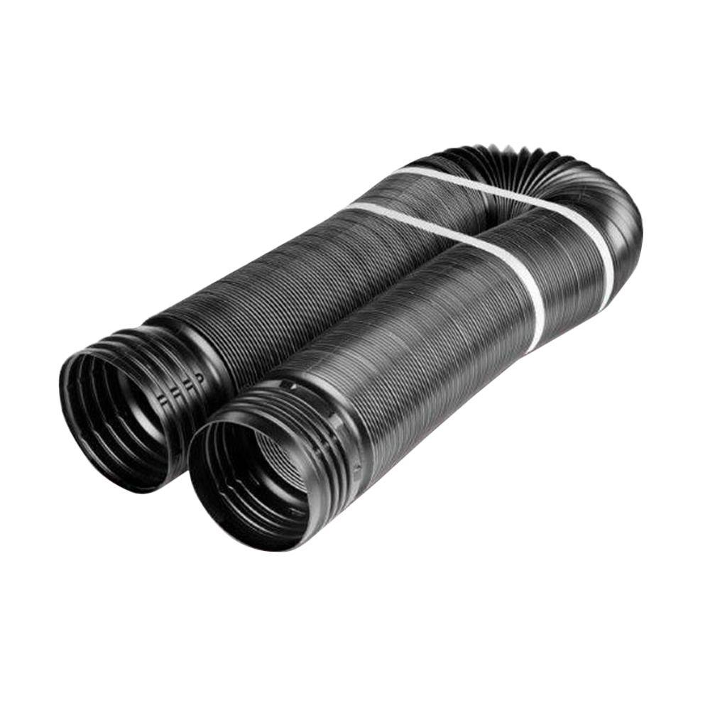 4 in. x 12 ft. Solid Polypropylene Pipe