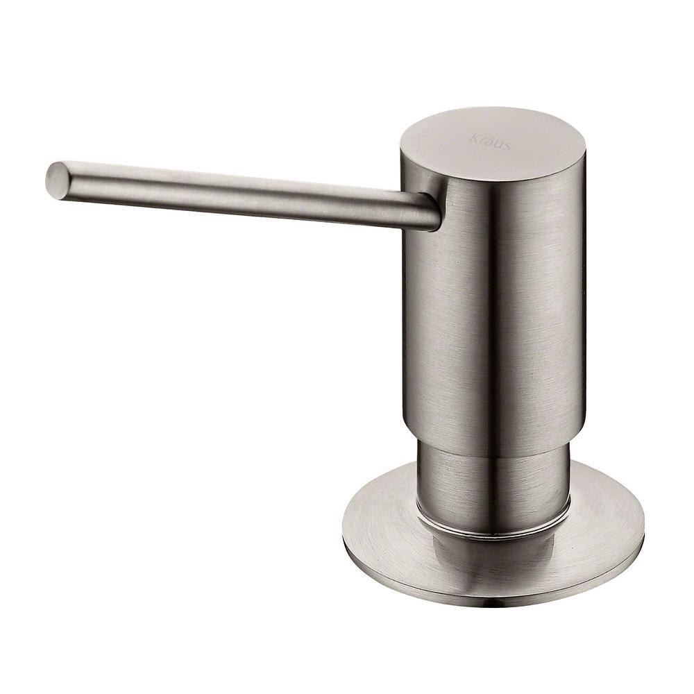 KRAUS Soap Dispenser in Stainless Steel