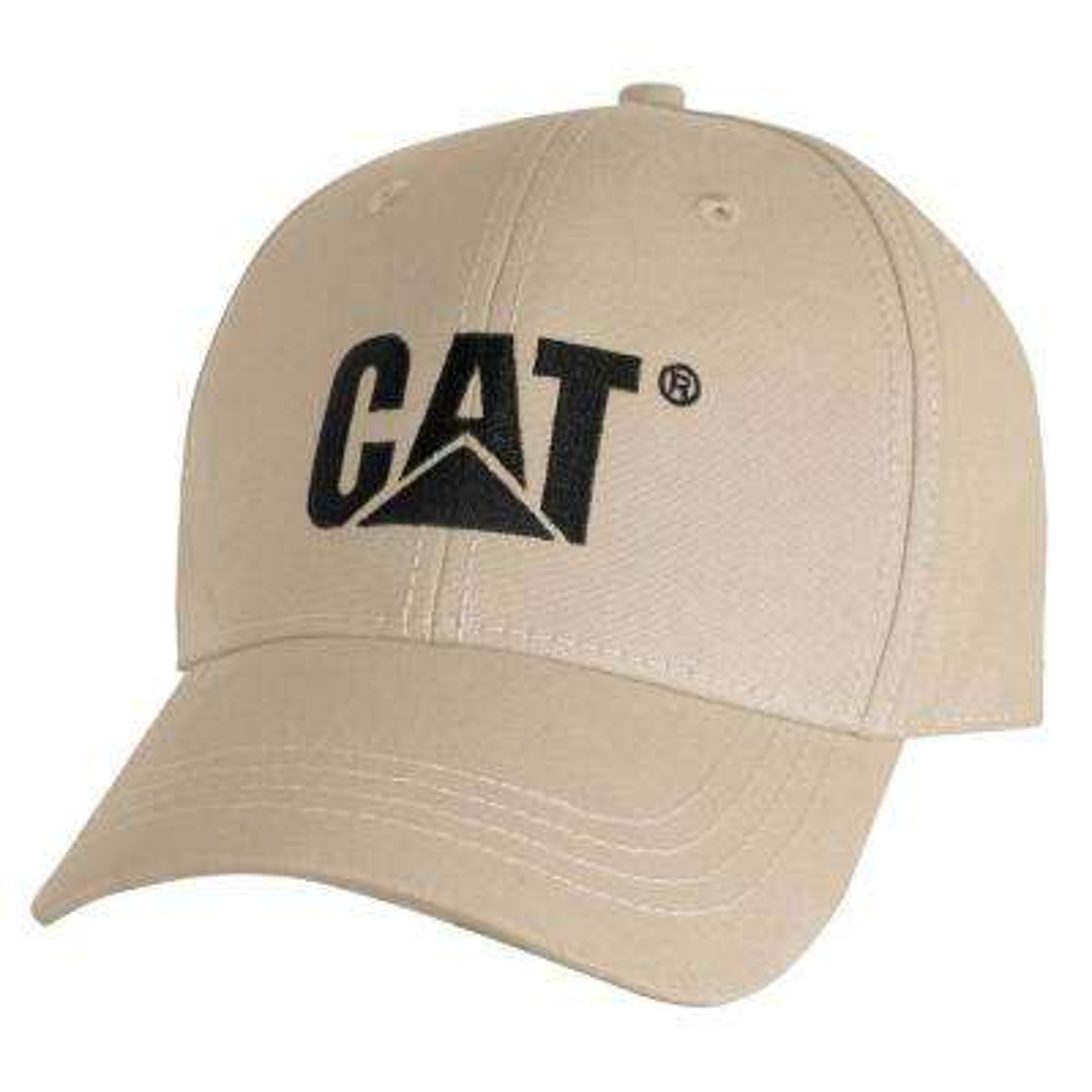 Trademark Men's One Size Khaki Cotton Canvas Cap Headwear