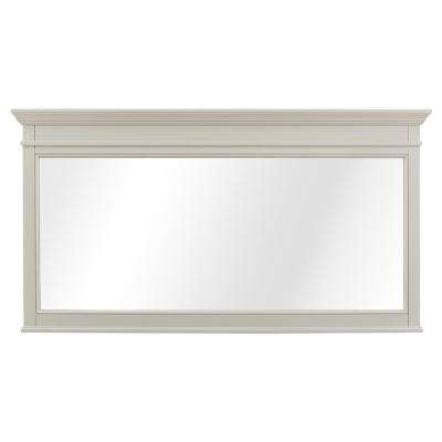 Braylee 60 in. W x 32 in. H Framed Wall Mirror in Rainy Day