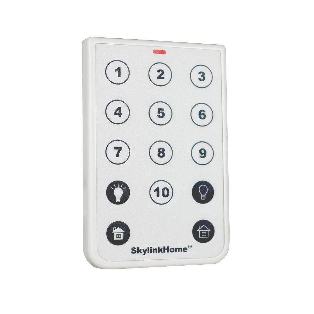 10-Button Wireless Remote
