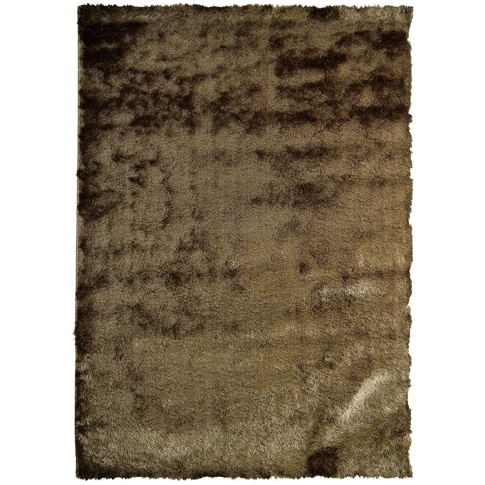 So Silky Meteorite Polyester 4 ft. x 6 ft. Area Rug