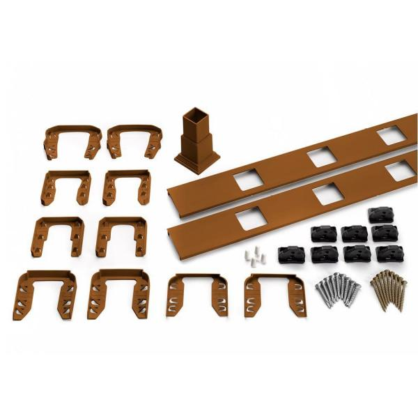 Transcend 91.5 in. Composite Tree House Square Baluster Stair Accessory Kit