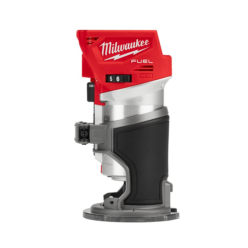 Milwaukee M18 FUEL 18-Volt Lithium-Ion Brushless Cordless Compact Router (Tool-Only)