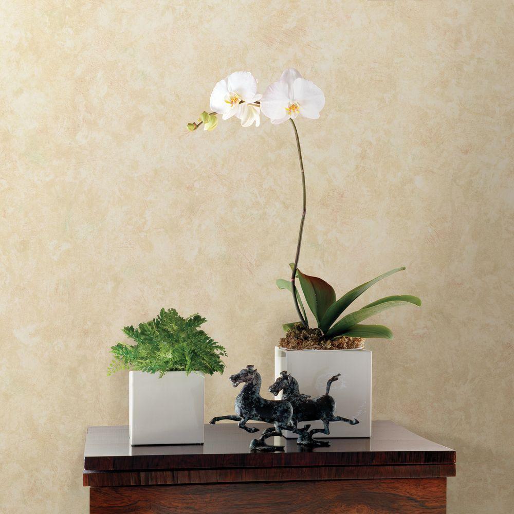 Prism Peach Marble Texture Wallpaper