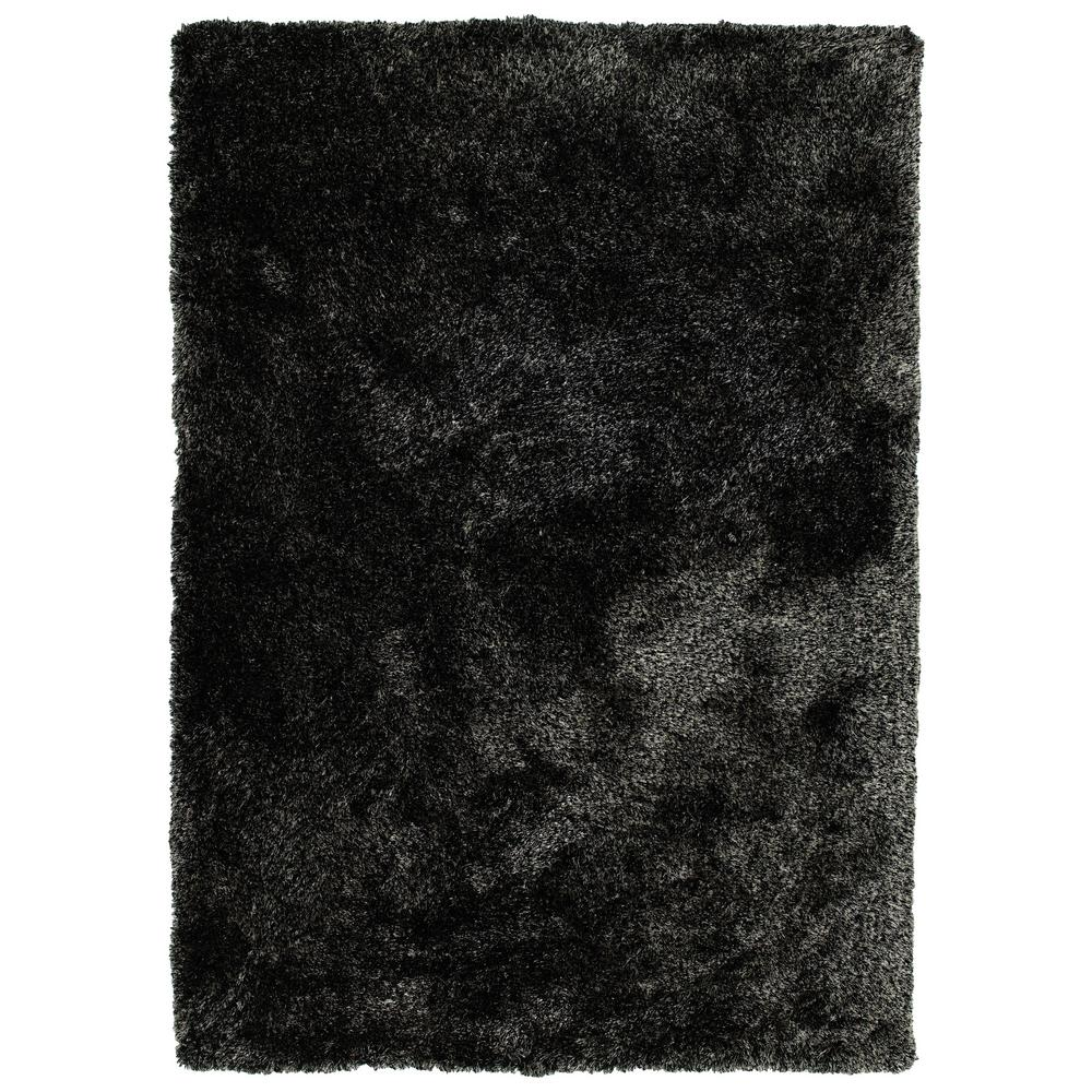 It's So Fabulous Black 9 ft. x 12 ft. Area Rug