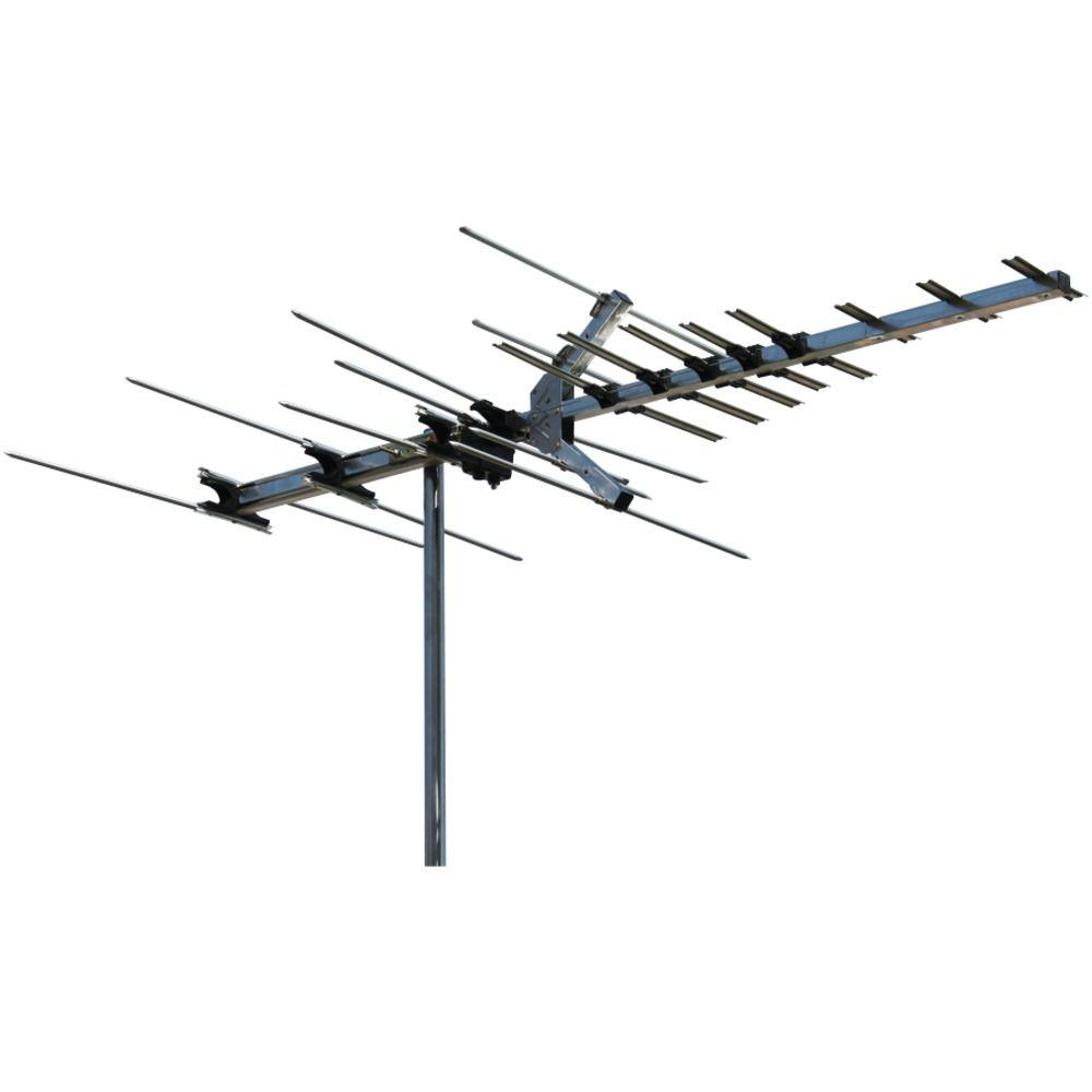 winegard 45 mile range indoor outdoor hdtv hi vhf antenna hd7694p