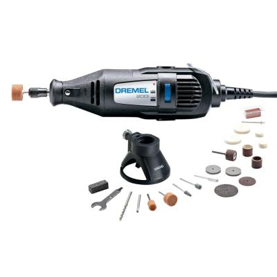 200 Series 1.14 Amp Dual Speed Corded Rotary Tool Kit with 21 Accessories and 1 Attachment