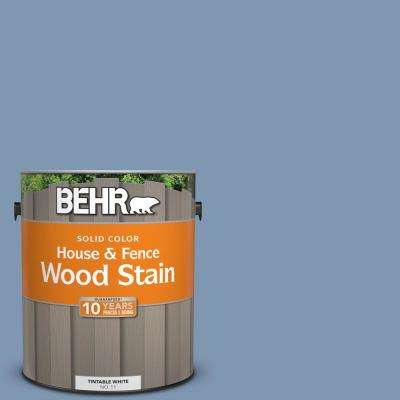 1 gal. #S530-4 Jet Set Solid House and Fence Exterior Wood Stain