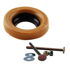 Wax Ring and Bolts for Toilet Bowl by