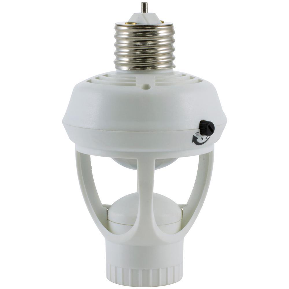 Automatic 360° Motion-Sensing Light Control