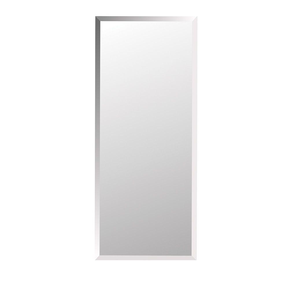 null 1 Horizon 16 in. W x 36 in. H x 4.5 in. D Frameless Recessed Bathroom Medicine Cabinet with Beveled Edge Mirror