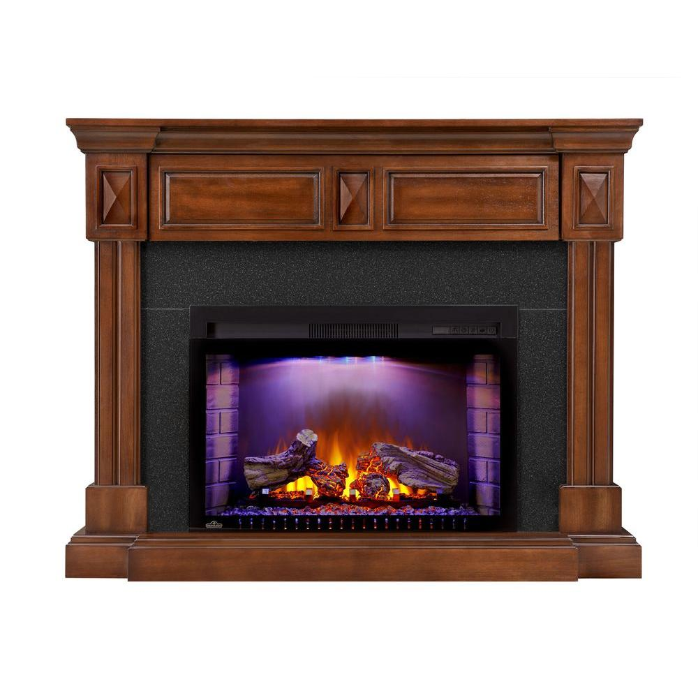 Braxton 50 in. x 40 in. Mantel with 29 in. Firebox