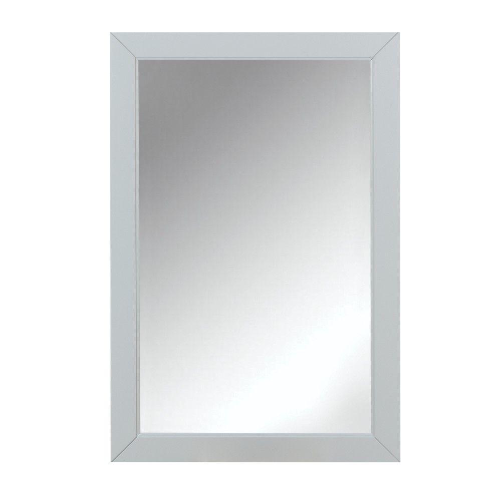 mirror 20 x 36. home decorators collection union 36 in. l x 24 w rectangular single framed mirror in dove grey-9484300270 - the depot 20 2