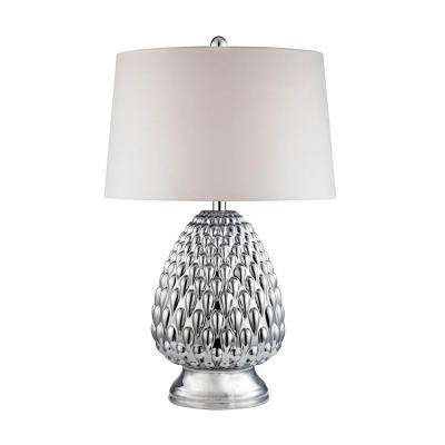 27 in. Mercury Acorn with Chrome Plating Table Lamp
