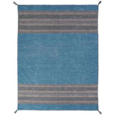 Andes Desert Teal 10 ft. x 13 ft. Area Rug