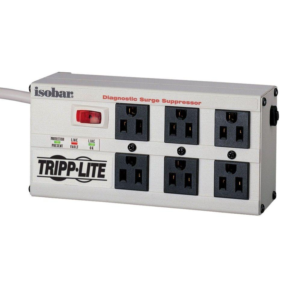 Tripp Lite Isobar 6 - 6 ft. Cord with 6-Outlet Strip-ISOBAR6ULTRA ...