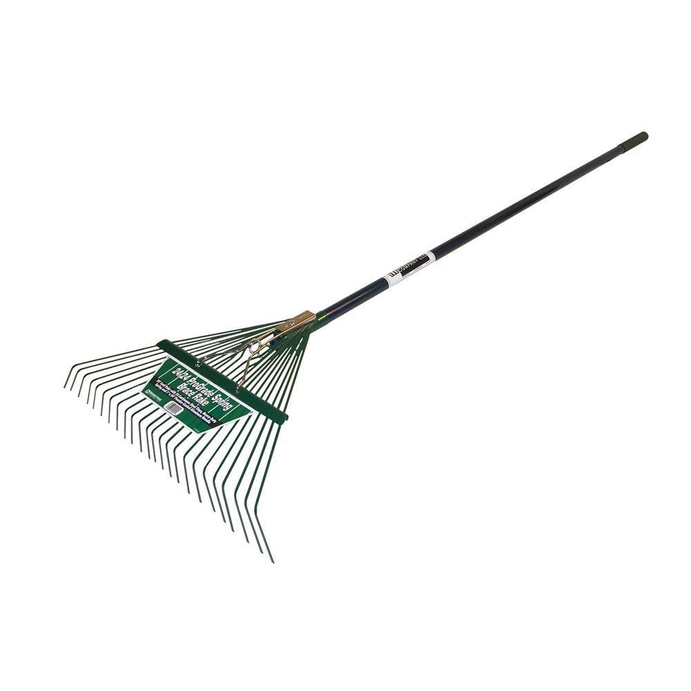 54 in l x 24 in w prograde spring brace rake 40924 the home depot