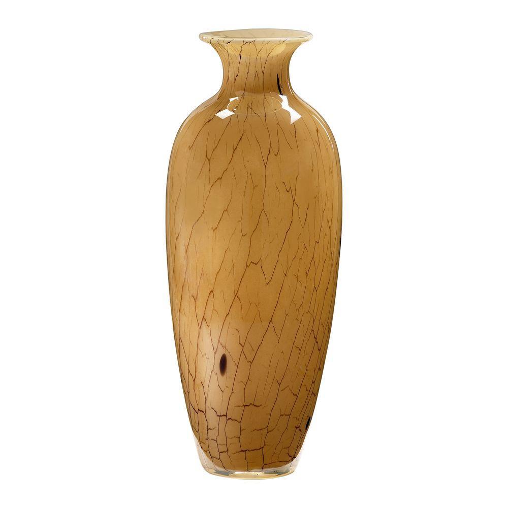 Filament Design Prospect 8.75 in. x 7.75 in. Smoked Light Green Vase