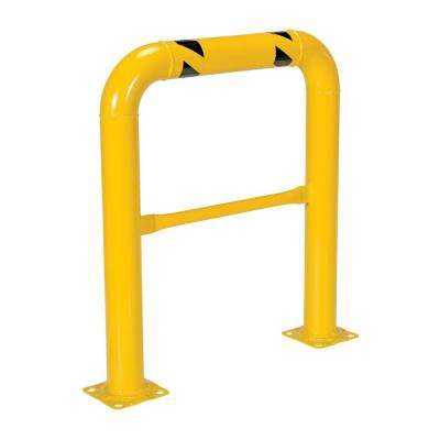 36 in. x 42 in. x 4 in. Yellow High Profile Machinery and Rack Guard