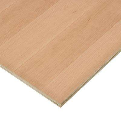 3/4 in. x 4 ft. x 4 ft. PureBond Cherry Plywood Project Panel (Free Custom Cut Available)