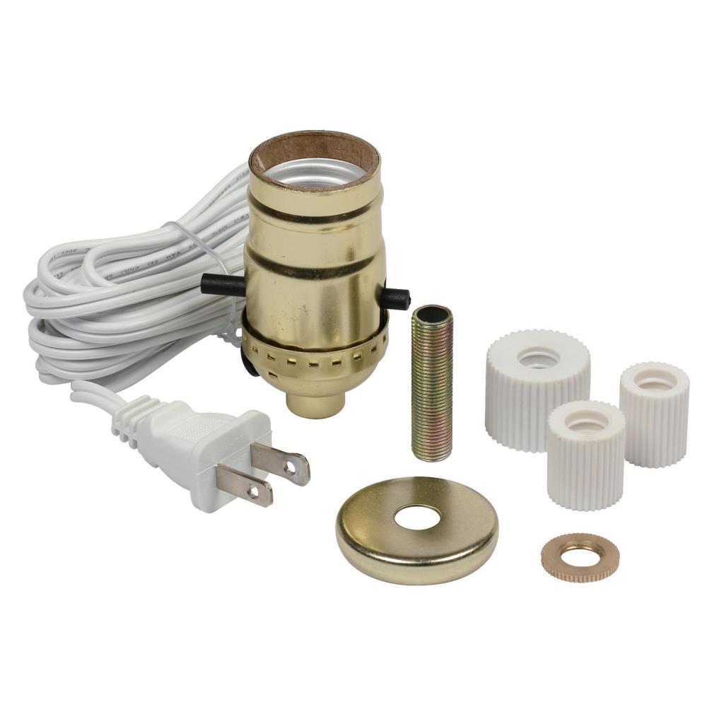 Good Westinghouse Electrified Candlestick And Bottle Adapter Kit