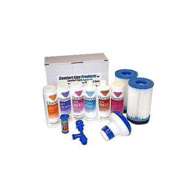 Combination Chemical Kit and 2-Pack Filters, Drain and Fill Kit