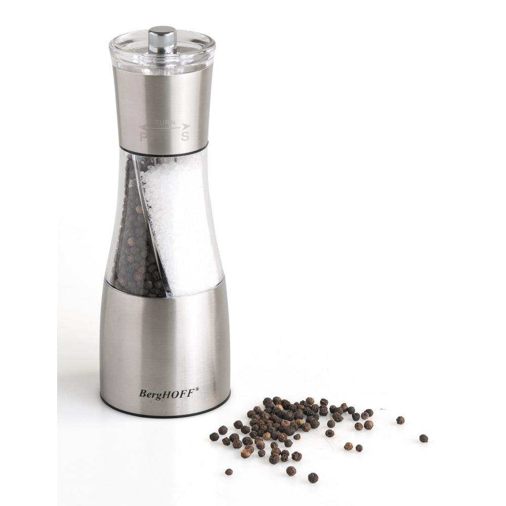 Duo Stainless Steel 2-in-1 Salt and Pepper Mill