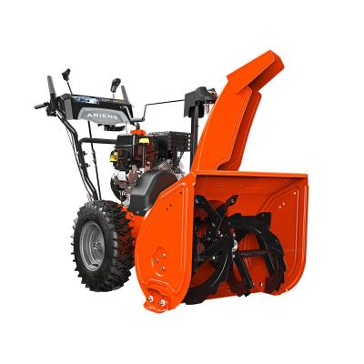 Deluxe 24 in. 2-Stage Electric Start Gas Snow Blower with Auto-Turn Steering