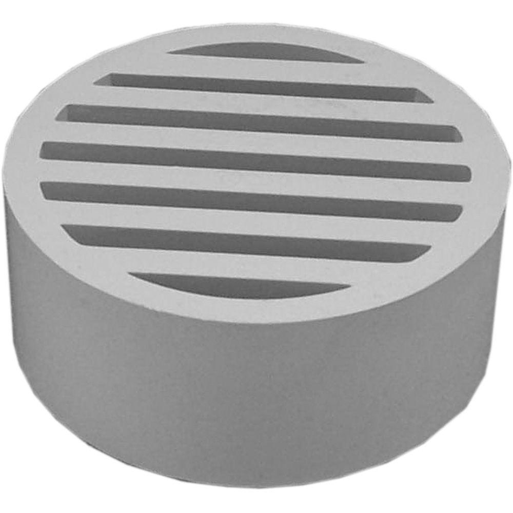 "3 in. PVC ""Hub Fit"" Floor Strainer"
