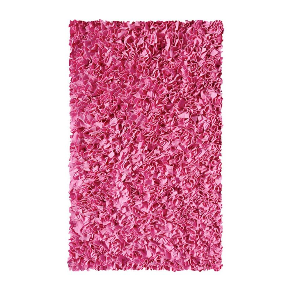 pink shaggy raggy rug filament design shaggy raggy gum pink 2 ft 8 in x 4237