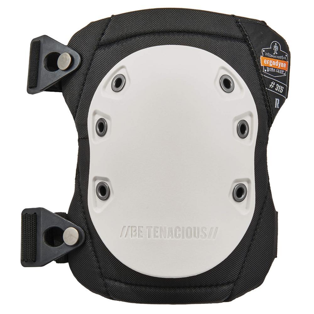 ProFlex Long Textured Hard Cap Knee Pads - Buckle