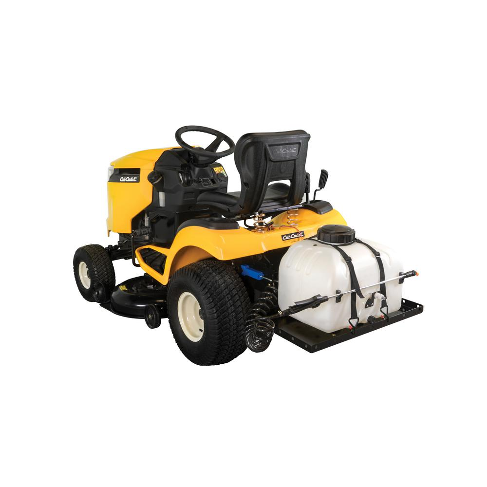 Cub Cadet Xt2 Home Depot >> Cub Cadet Fastattach 9 Gal Electric Sprayer For Xt1 And Xt2