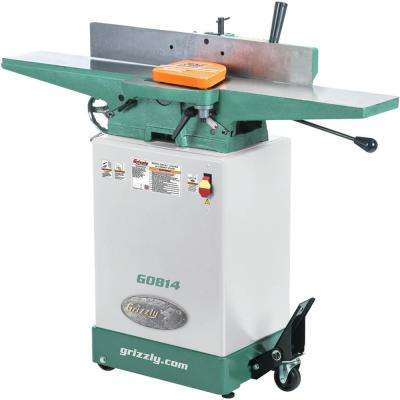 14 Amp/7 Amp 6 in  Corded Jointer with Cabinet Stand