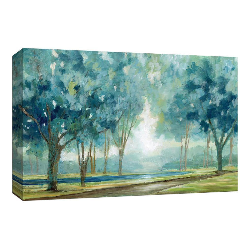 Ombre Afternoon By Canvas Wall Art