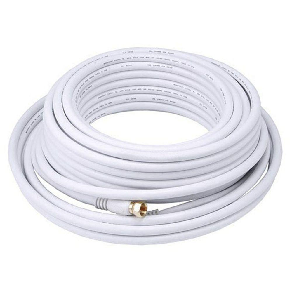 digiwave 50 ft rg6 coaxial cable rg621050wf the home depot. Black Bedroom Furniture Sets. Home Design Ideas