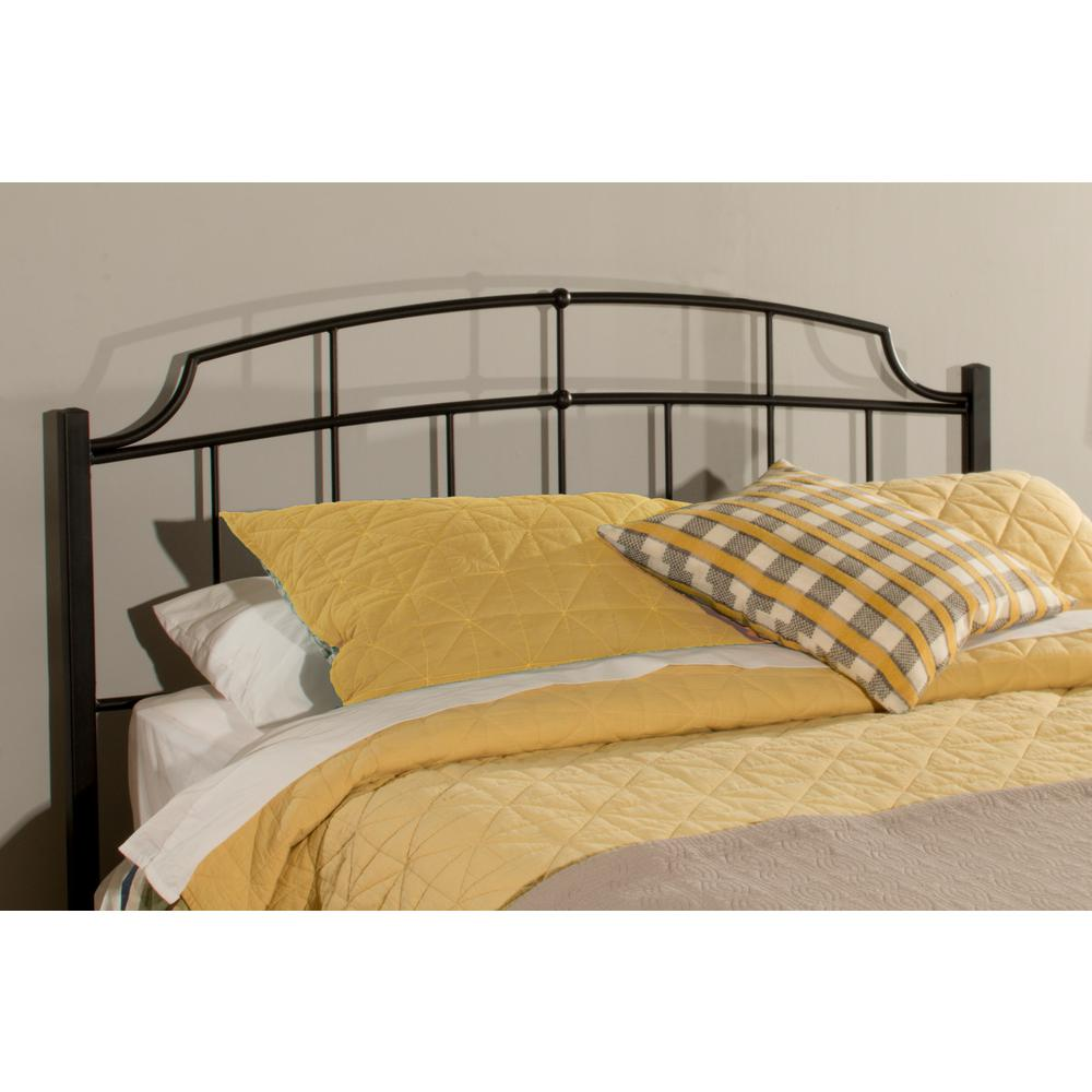 Hillsdale Sheffield Textured Black Full Queen Headboard