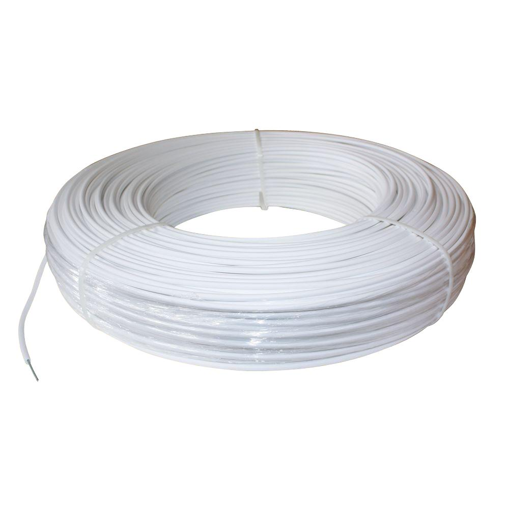 1320 ft. 12.5-Gauge White Safety Coated High Tensile Horse Fence Wire