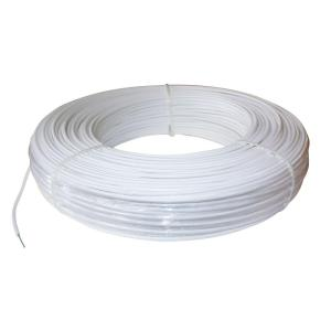 PolyPlus 1320 ft. 12.5-Gauge White Safety Coated High Tensile Horse Fence Wire by PolyPlus