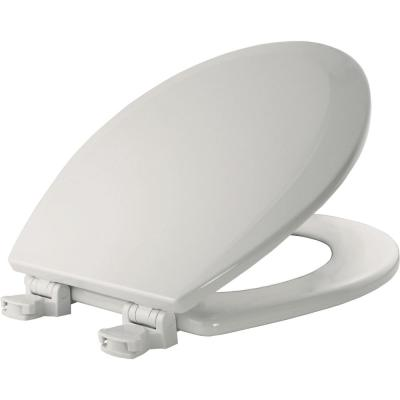 Surprising Bemis Slow Close Round Closed Front Toilet Seat In White Pabps2019 Chair Design Images Pabps2019Com