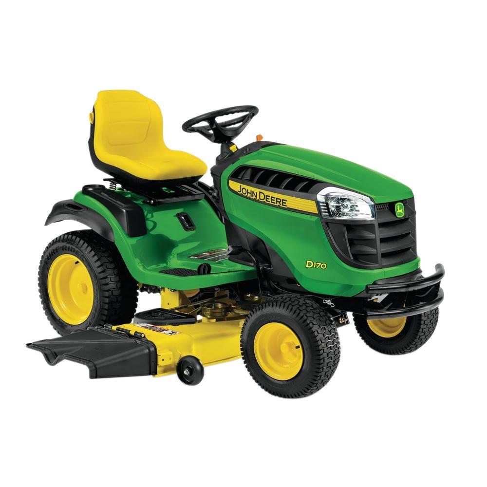 John Deere Garden Tractor Lights : John deere d in hp v twin gas hydrostatic front
