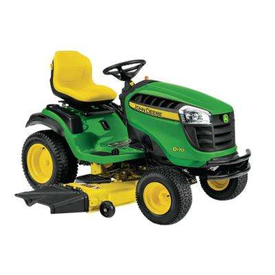 D170 54 in. 25 HP ELS V-Twin Hydrostatic Front-Engine Riding Mower-California Compliant