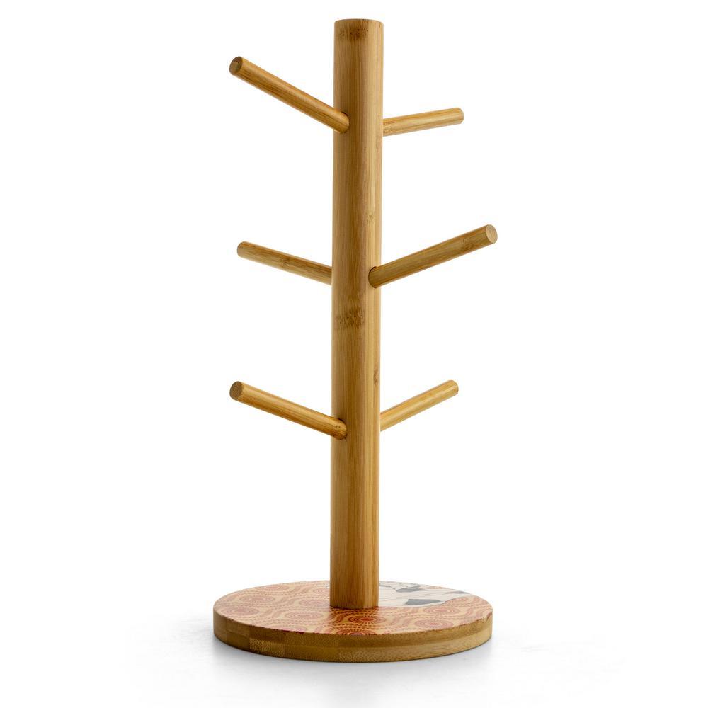 Farm Wood Mug Tree 985112416m