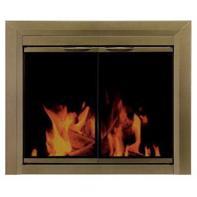 Cahill Large Glass Fireplace Doors