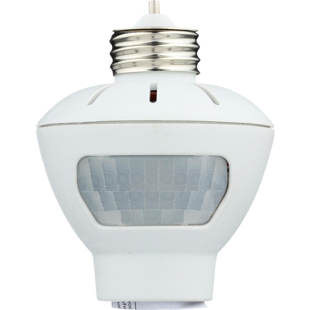 Westek Indoor Motion Sensing Light Control White Mlc166bc