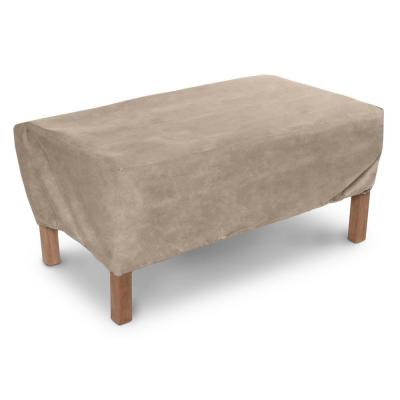 48 in. L x 24 in. W x 15 in. H Patio Coffee Table Covers